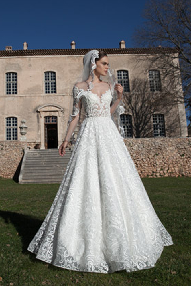 Prenses Gelinlik Modelleri 1106