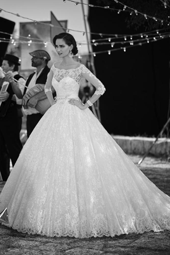 Prenses Gelinlik Modelleri 1101
