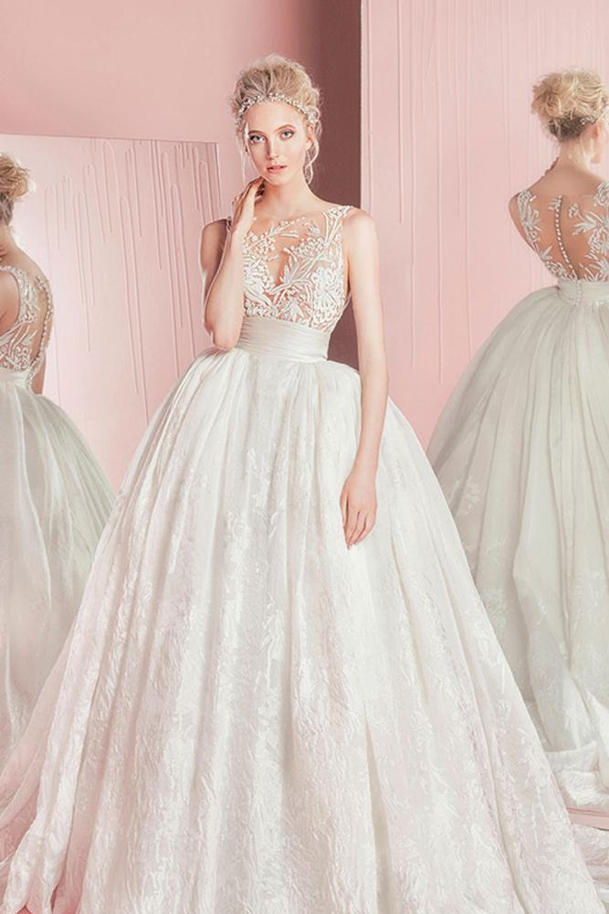 Prenses Gelinlik Modelleri 1136